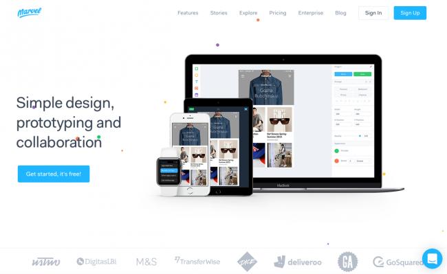 طراحی سایت با مارول marvel