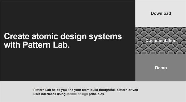 ابزار طراحی سایت Pattern lab