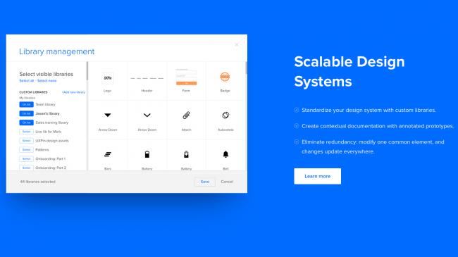ابزار طراحی سایت ریسپانسیو uxpin