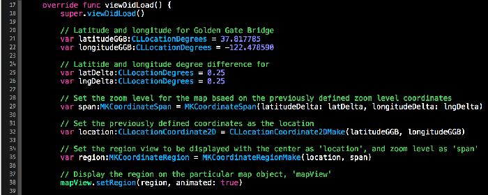 نمونه کد برنامه نویسی