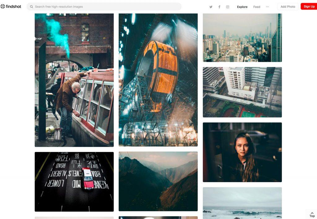 تصاویر استوک رایگان در Findshot